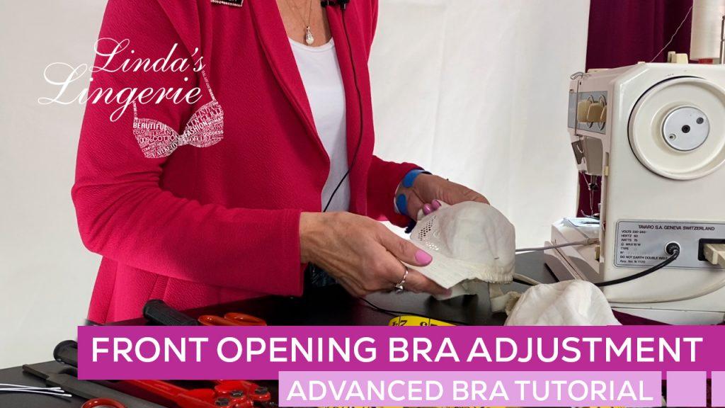 Front Opening Bra Adjustment