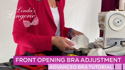 Front Opening Bra Adjustment